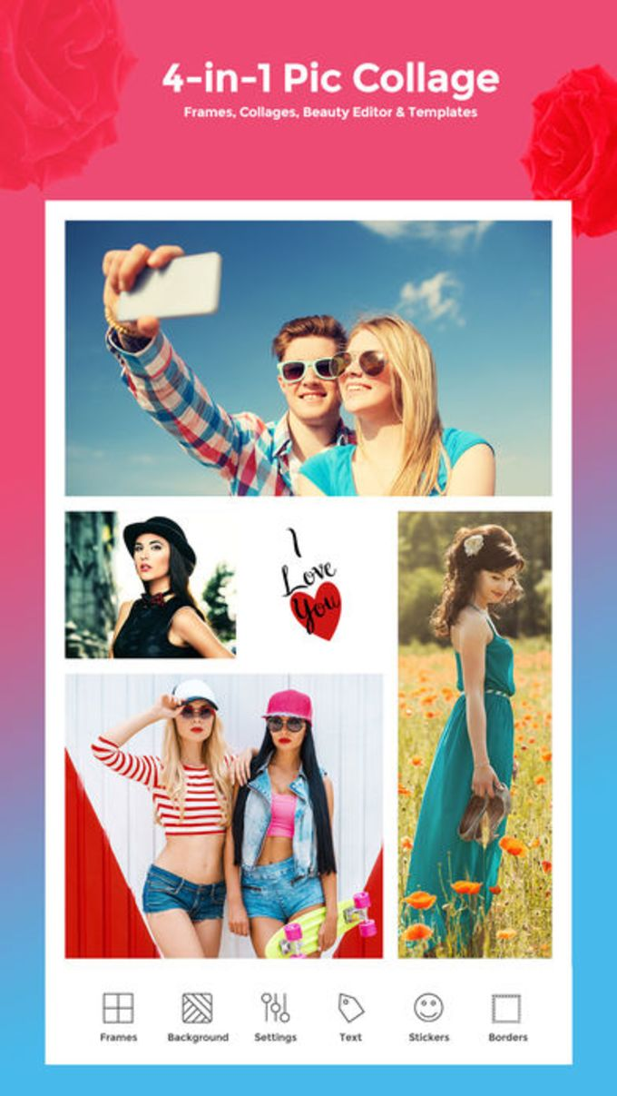 Frames - Picture Collage Maker for iPhone - Download