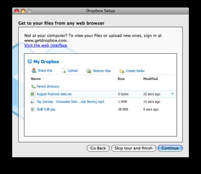 No Dropbox For Mac