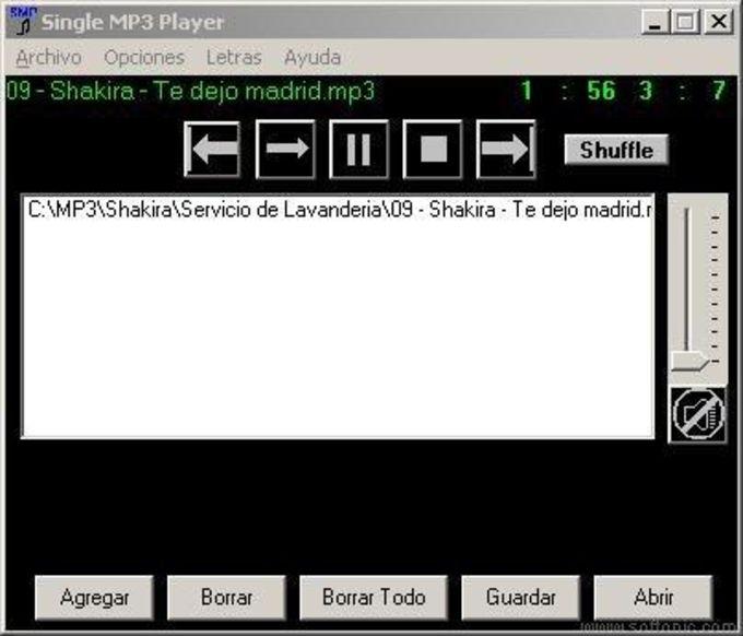 Single MP3 Player