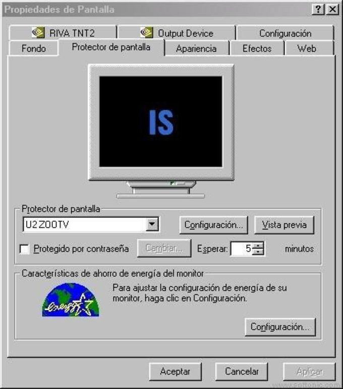 U2 ZOO TV Screen Saver