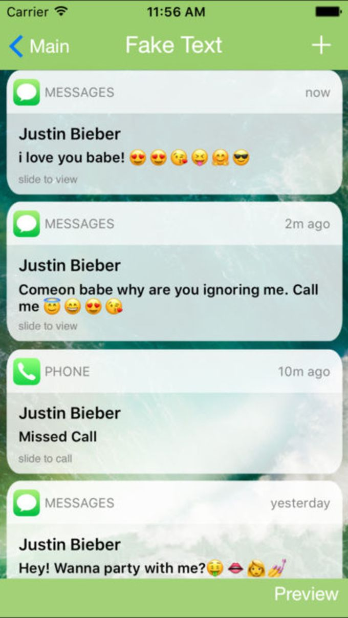 Fake Text Message FREE for iOS 10 - Prank Text