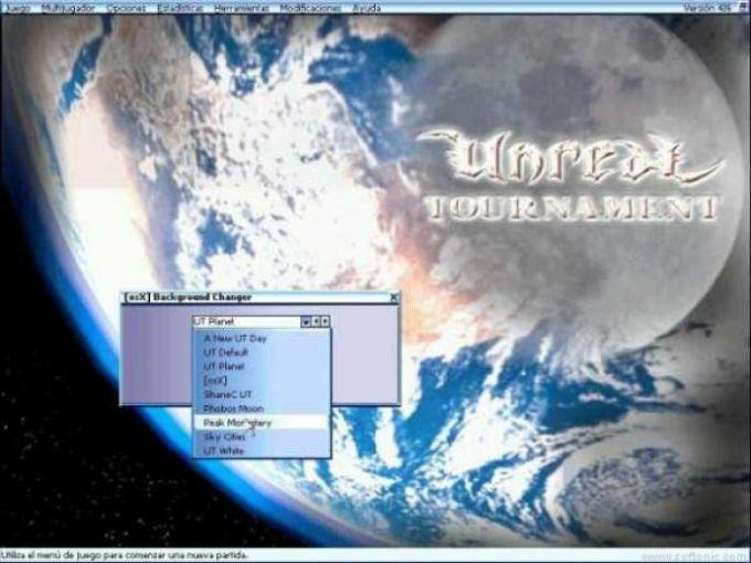 OSX UT Background Changer