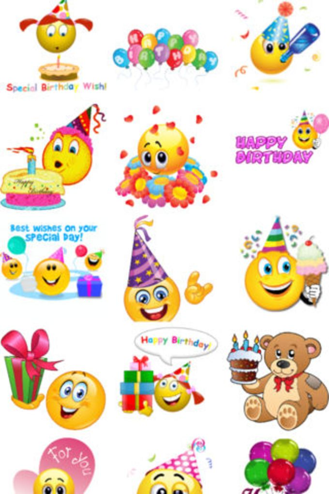Birthday Emojis For IPhone Download