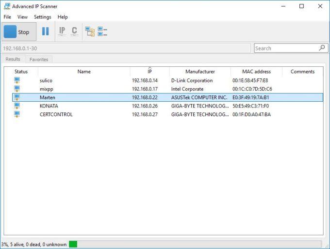 Download Advanced IP Scanner - free - latest version