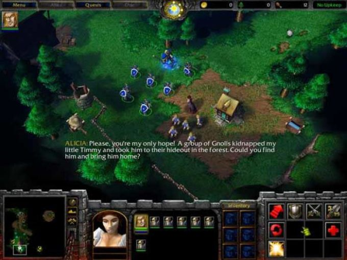 WarCraft III: Reign of Chaos Parche