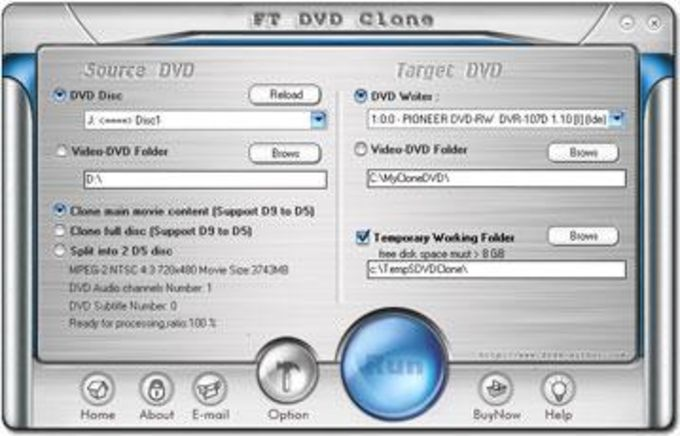 FT DVD Clone