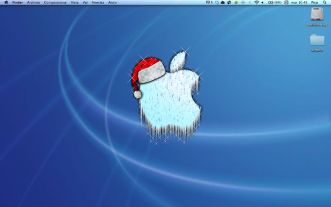 Mac Christmas Wallpaper