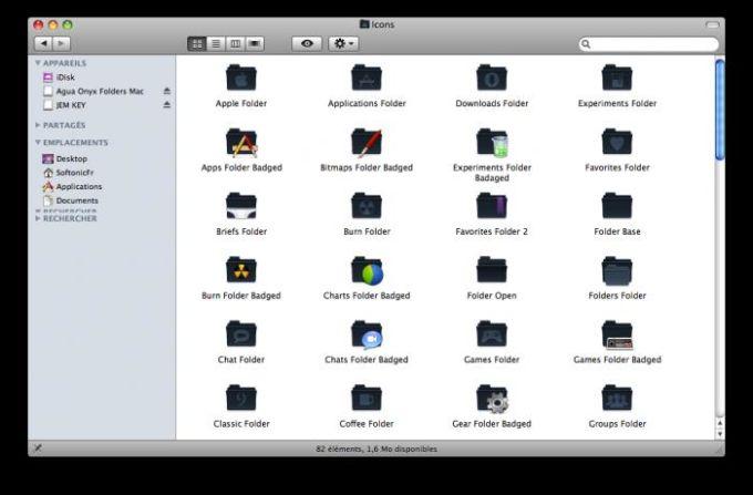 Agua Onyx Folders