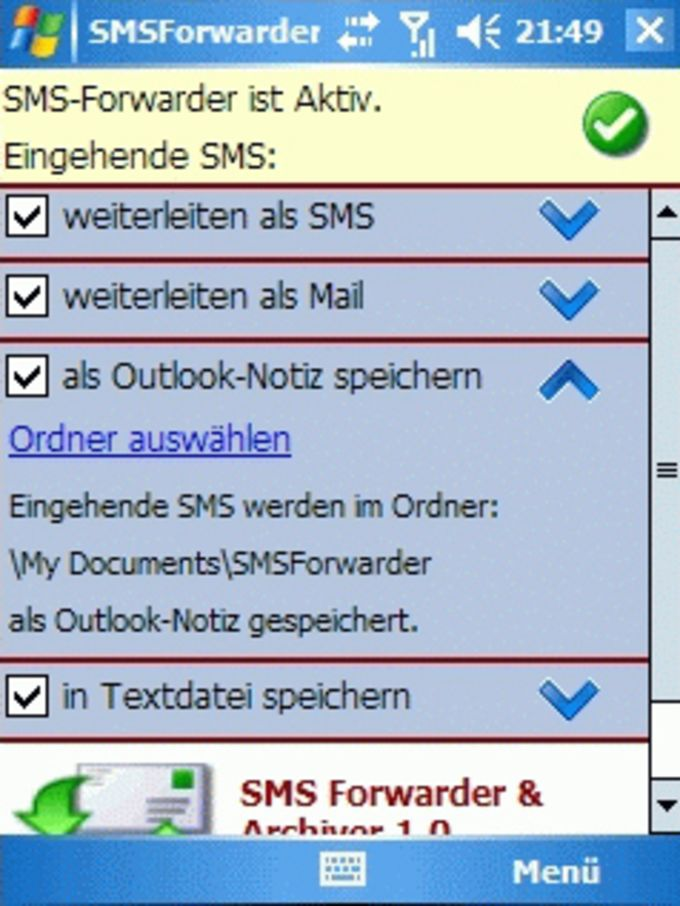 SMS Forwarder & Archiver