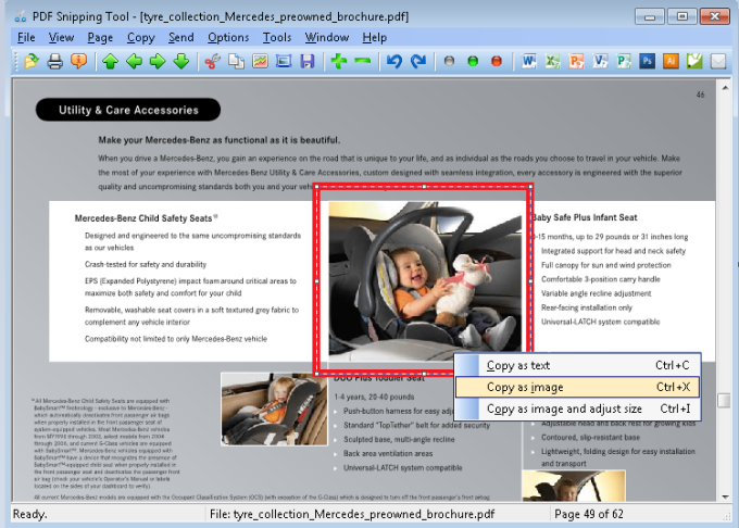 Pdf snipping tool download cut text and graphics out of any pdf file fandeluxe Gallery