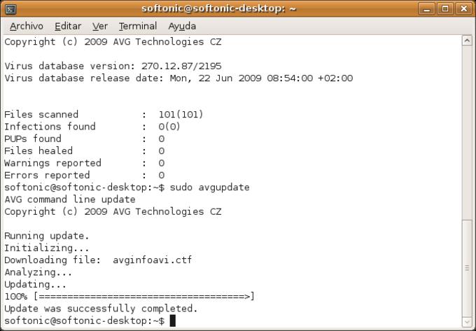 AVG Free para Linux