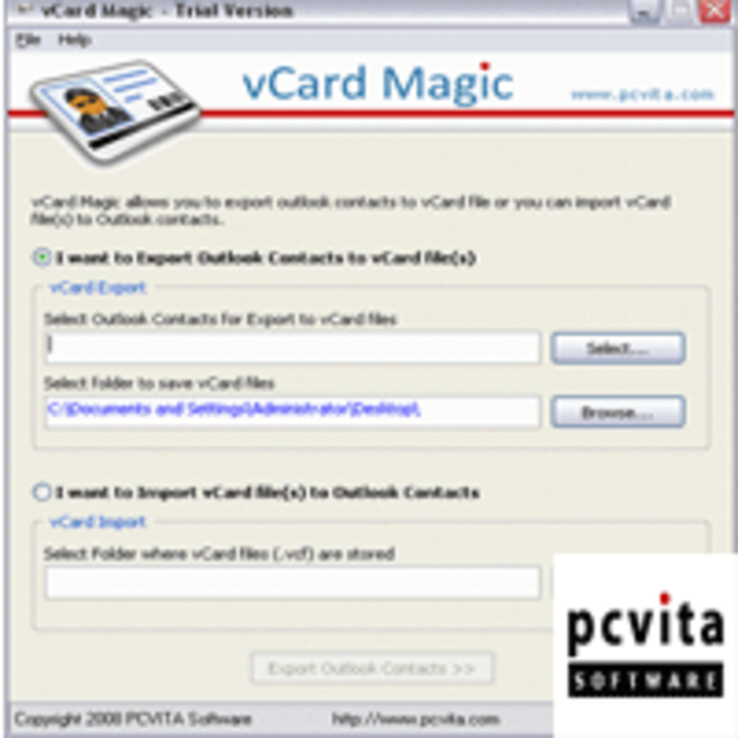 vCard Converter Utility