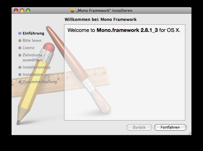 Mono Framework