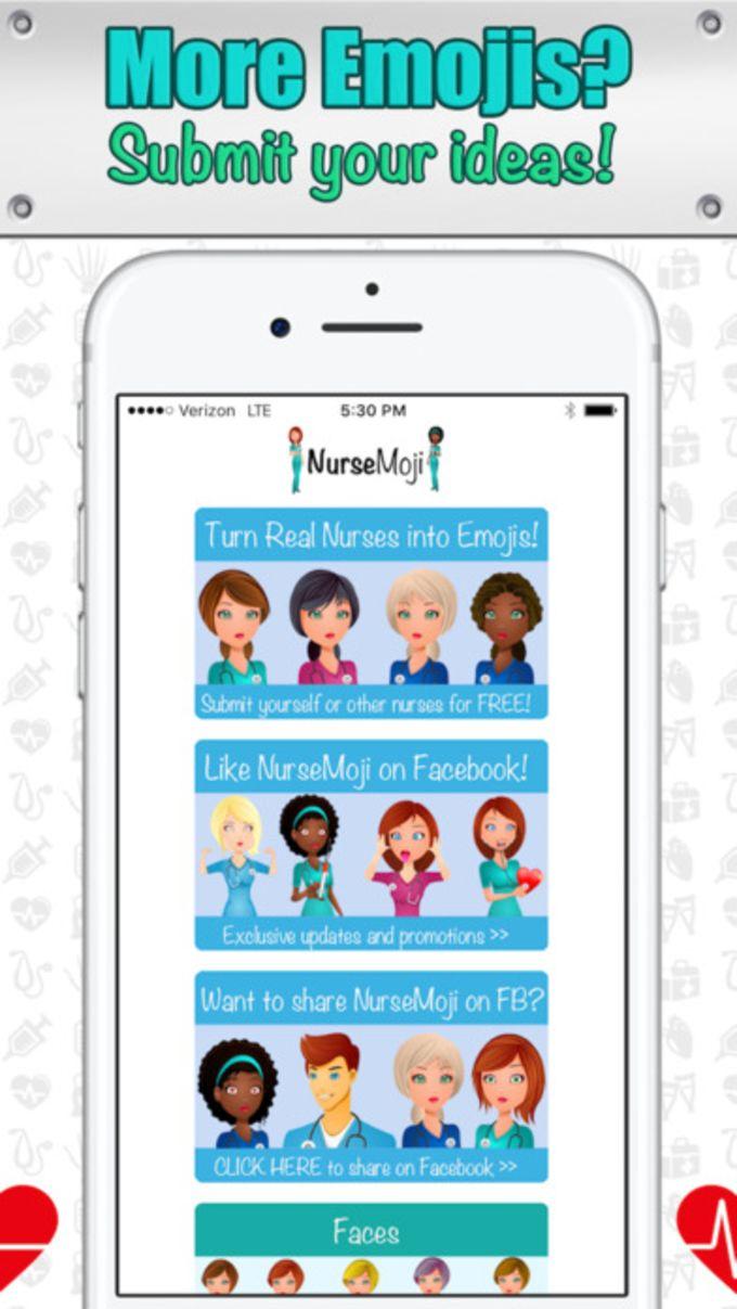 NurseMoji - All Nurse Emojis and Stickers!
