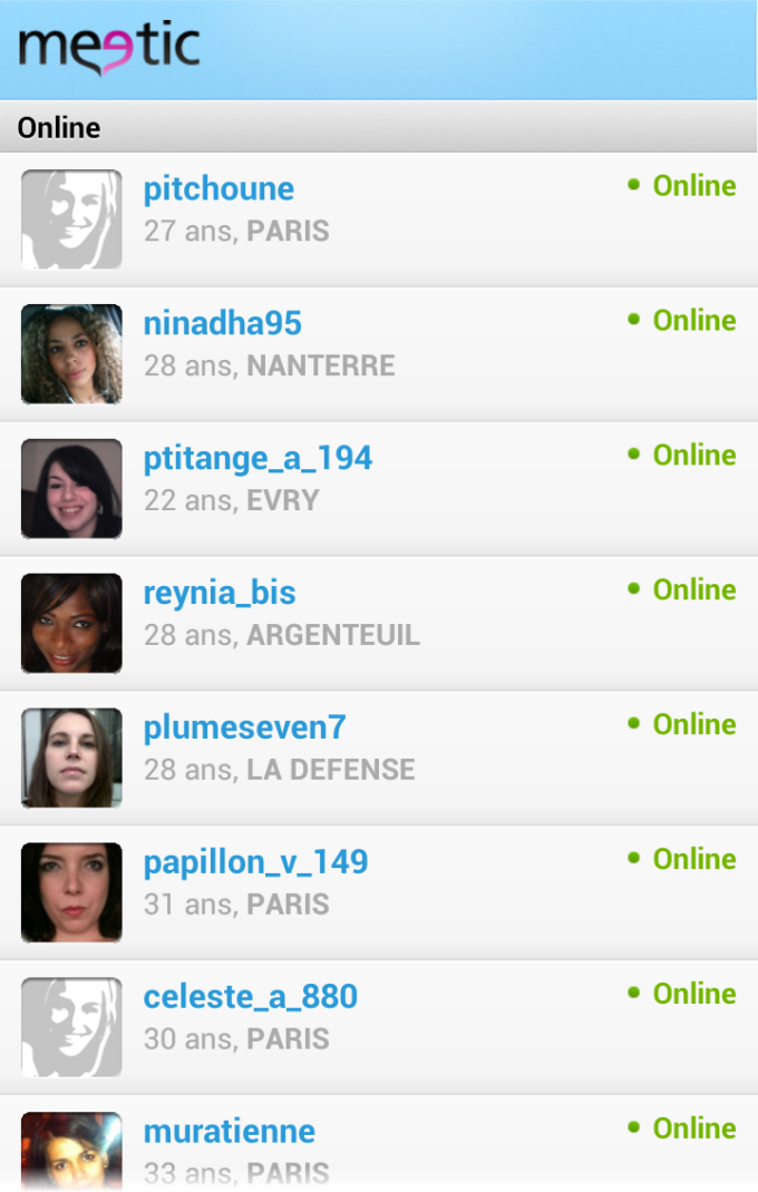 Mission dating Meetic