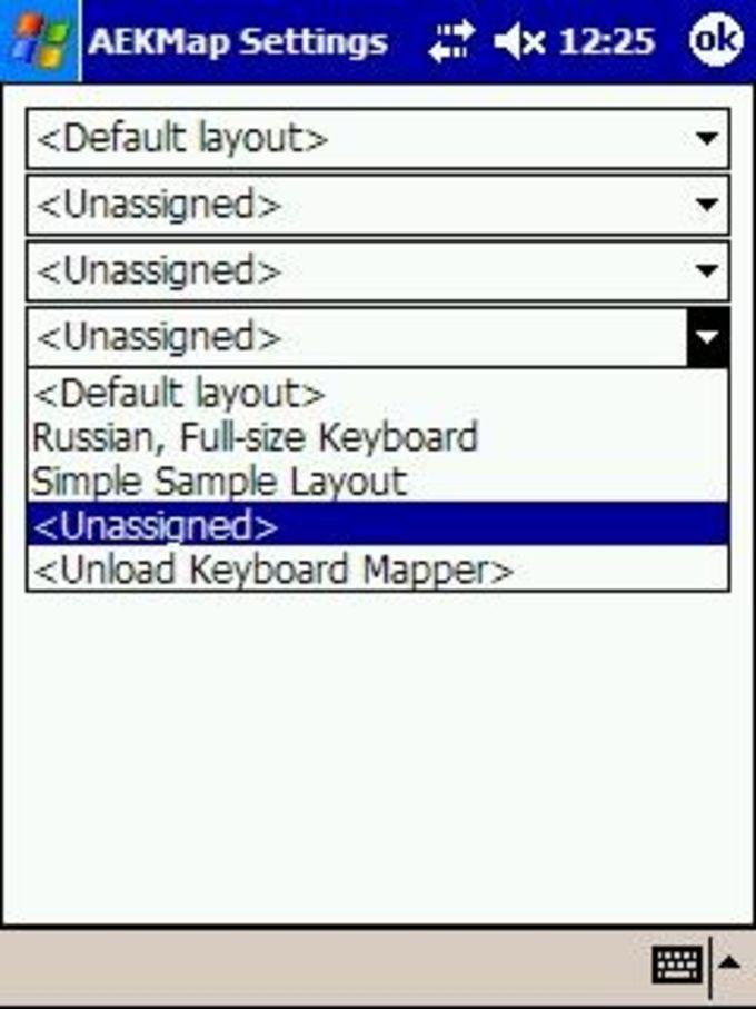 AE Keyboard Mapper