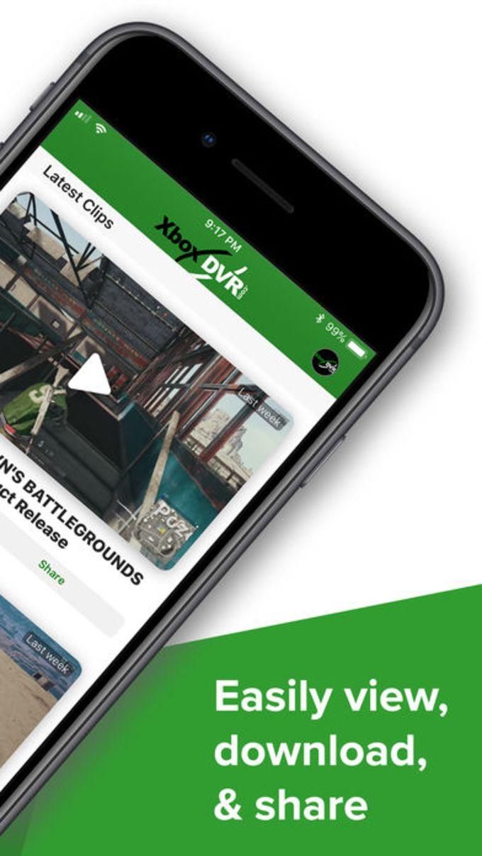 XDVR - Share Xbox clips