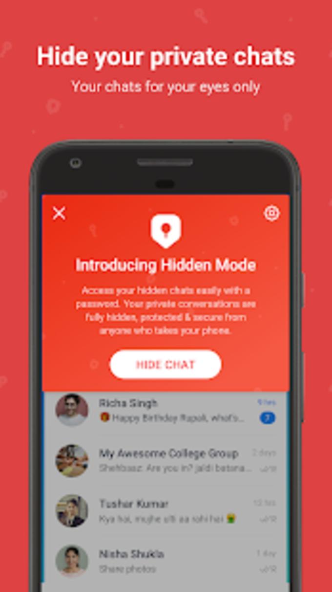 Hike Messenger voor Android - Download