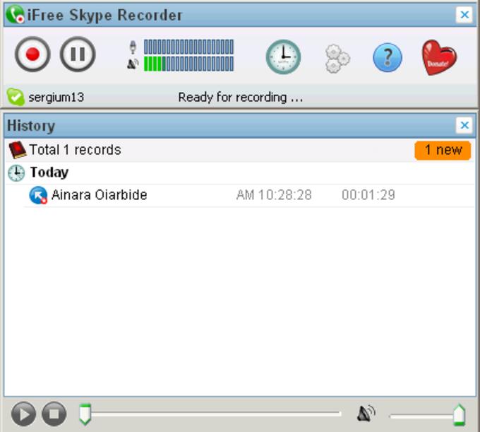 iFree Skype Recorder