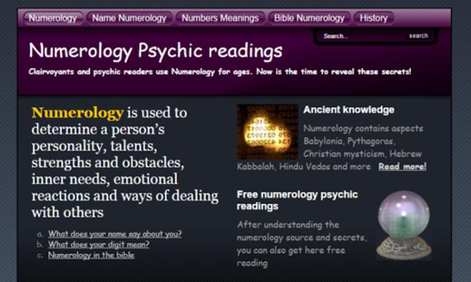 Lector de numerología Kabbalah