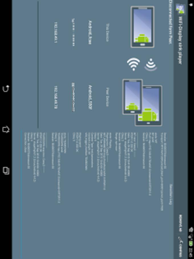 WiFi-Display(miracast) sink