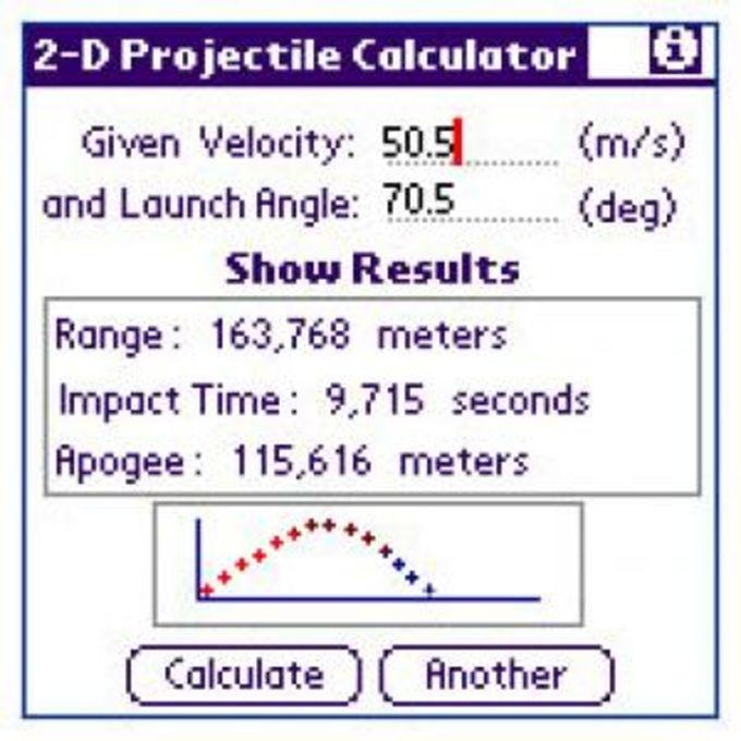 Projectile 2D