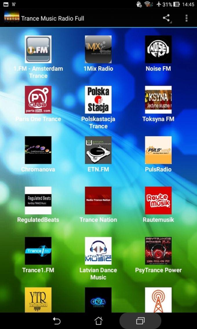Trance Music Radio Full