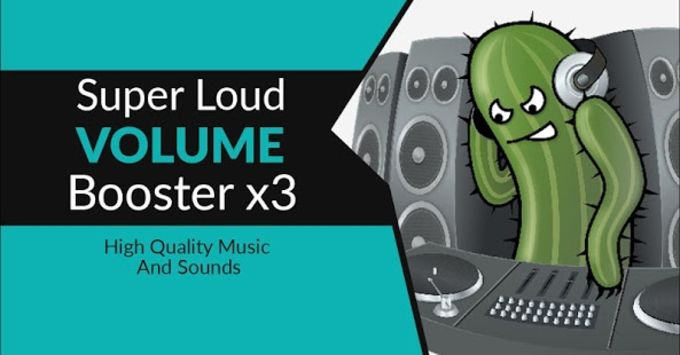 Super Loud Volume-Booster x3
