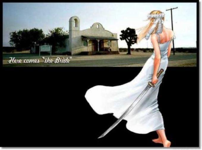 Kill Bill: The Bride Screensaver