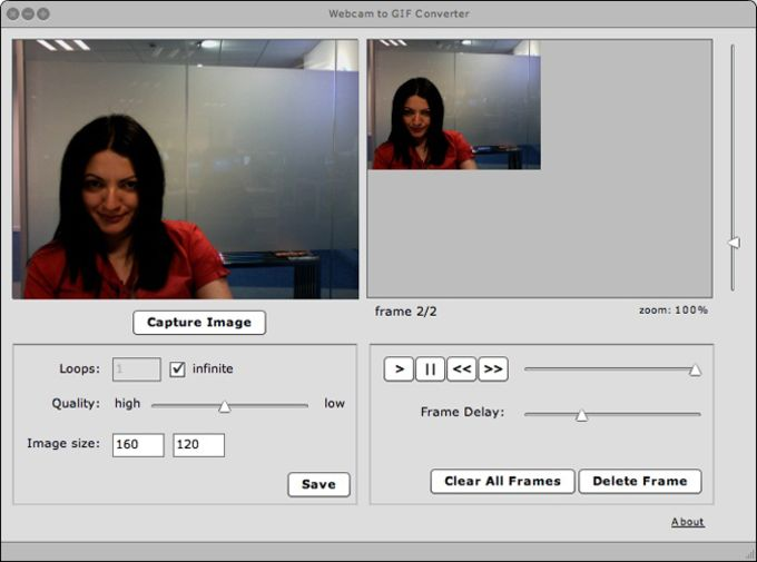 Webcam to GIF