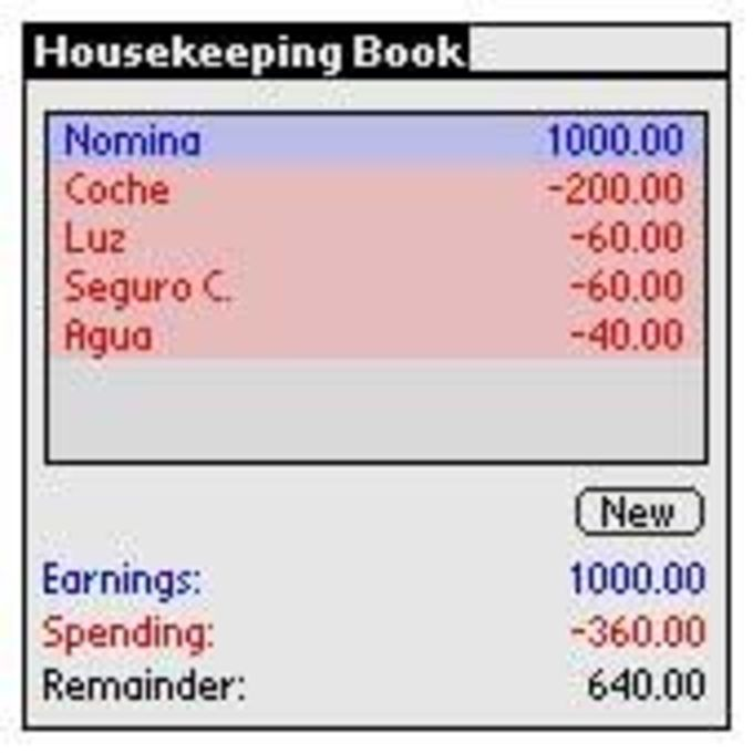 Housekeeping Book