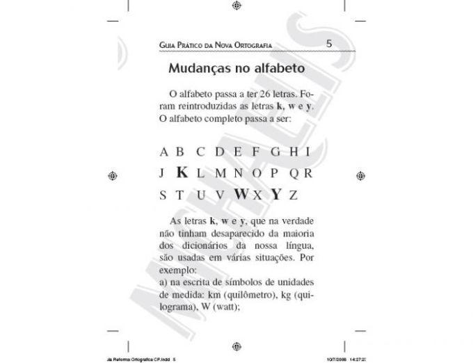 Guia Prático da Nova Ortografia