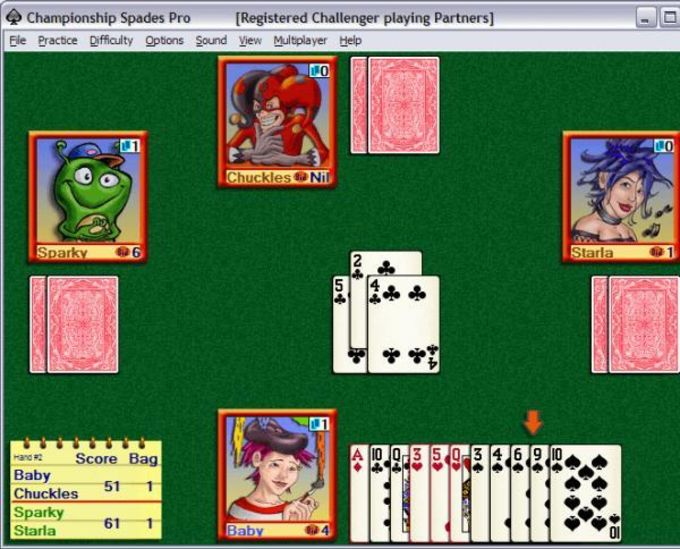 Championship Spades
