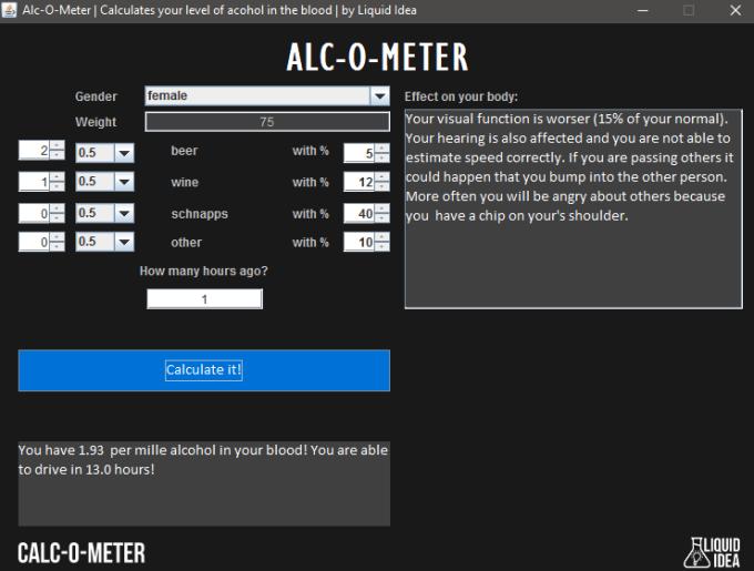 Alc-O-Meter