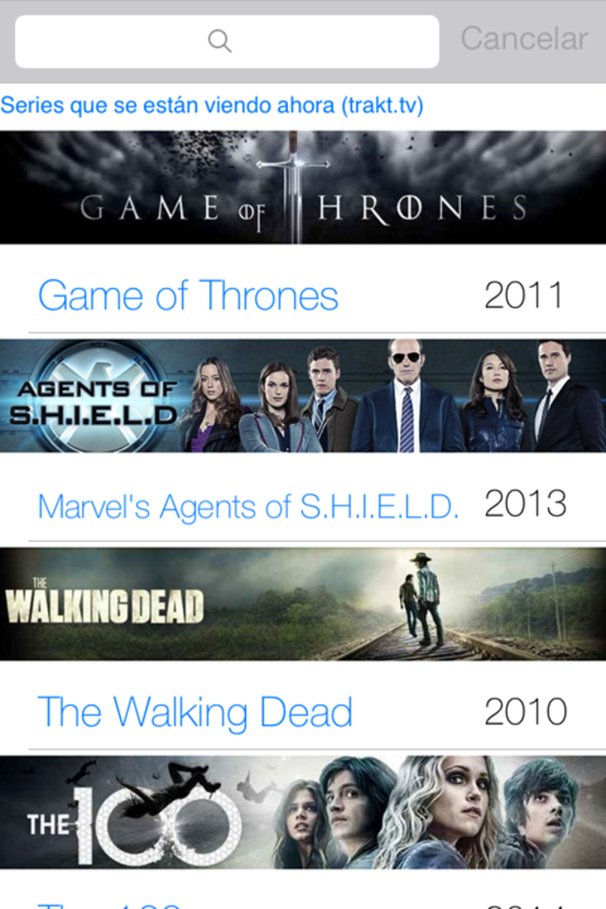 TV Shows Tracker Lite