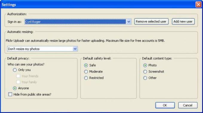 Flickr Uploadr