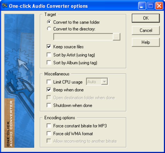 One-click Audio Converter