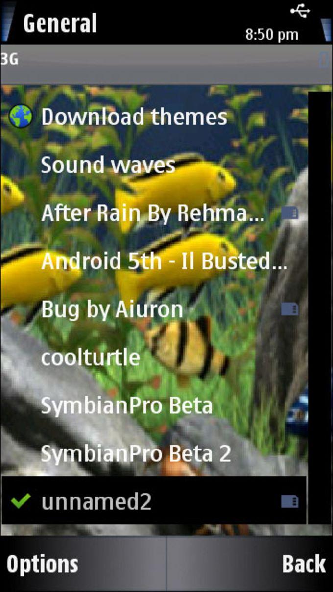 Animated Aquarium Theme