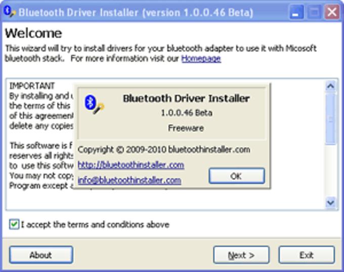 bluetooth for windows vista free download