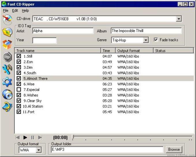 Fast CD Ripper