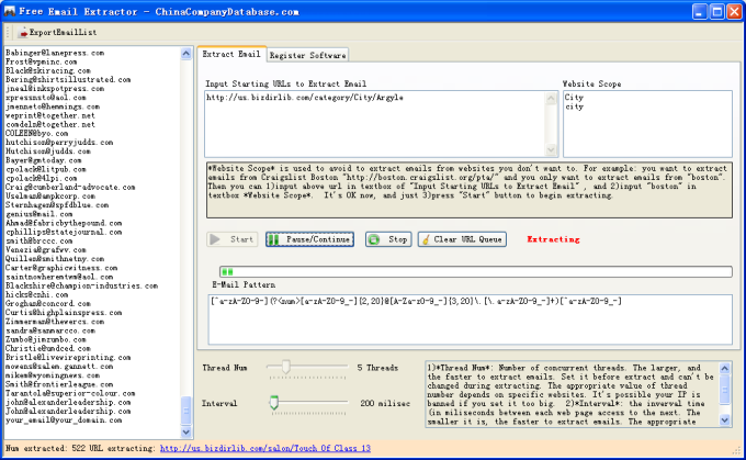 Free Email Extractor