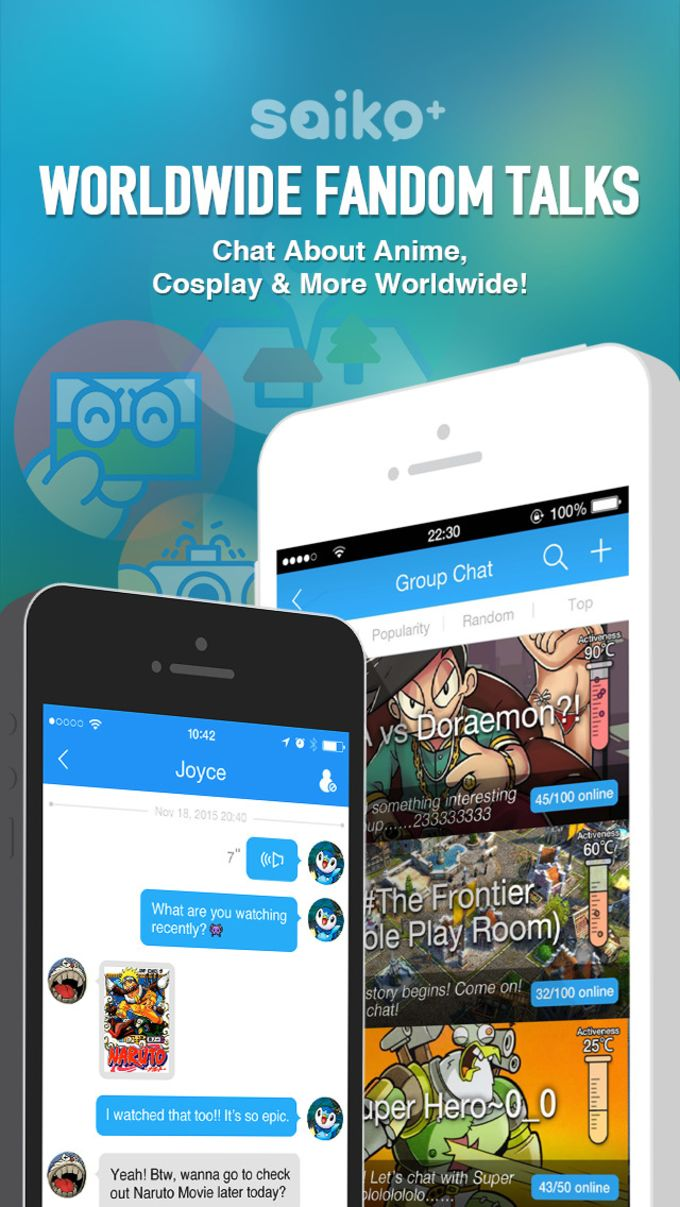 Saiko+ - a planet for all Anime, Manga and cosplay geeks to chat and share