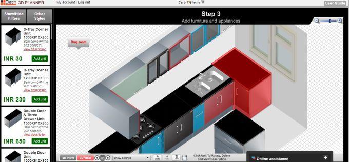 php Kitchen Planner