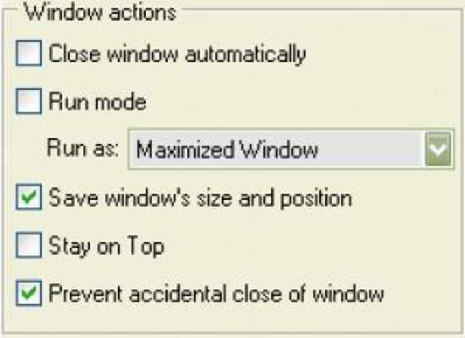 Actual Window Guard