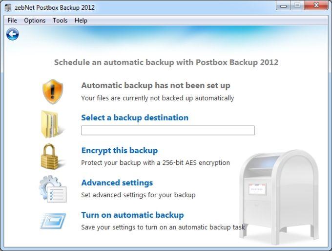 Postbox Backup 2012