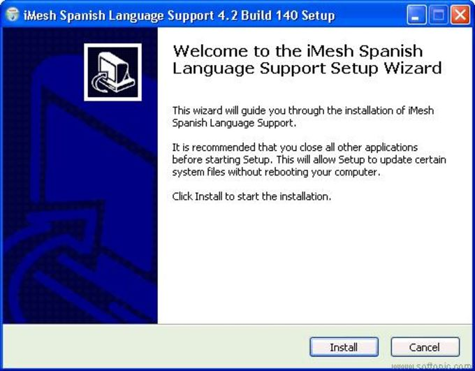 iMesh Spanish Language Support