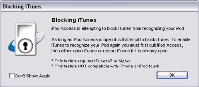 iPod Access