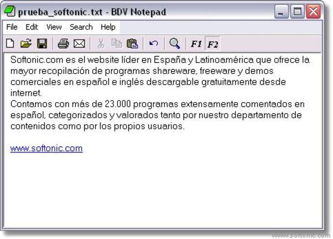 BDV Notepad