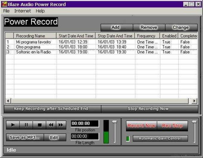 Power Record