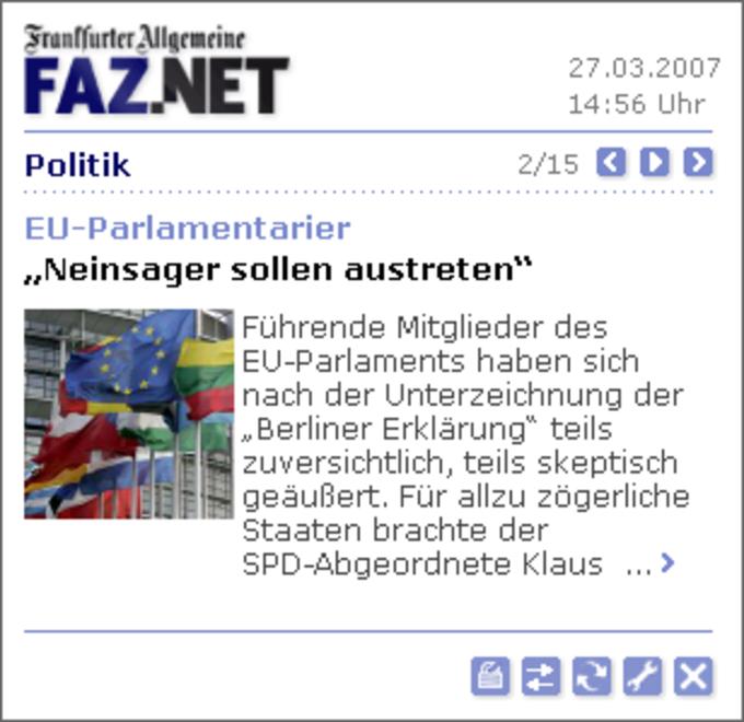 FAZ.NET-RSS-Reader